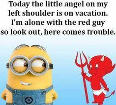 evil minion quote