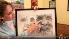 Portré rajzolás - a tökéletes portré 9 titkos trükkje - Művészház Arc, Techno, Frame, Home Decor, Picture Frame, Decoration Home, Room Decor, Techno Music, Frames