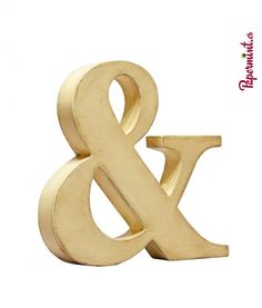 Ampersand letra decorativa