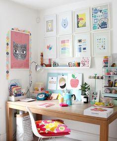 Workroom inspiration illustrator