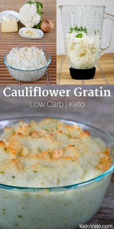 Cauliflower Gratin Keto Recipe