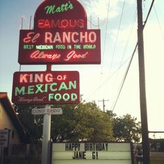 Gueros was always a letdown for me, so I was so excited when I finally tried Matt's El Rancho. They make some of the best bad-for-you tex-mex you can get. The beef fajitas are life-changing, and their salsa and margaritas are quality.