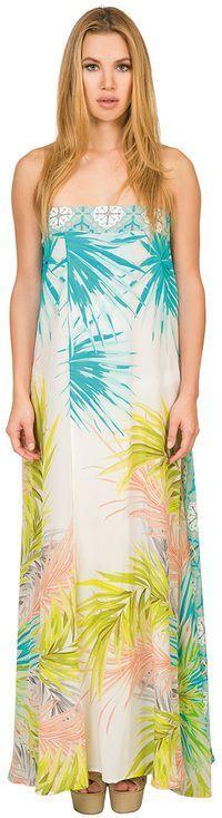 Caffe Swimwear - Long Bandeau Dress VP1710