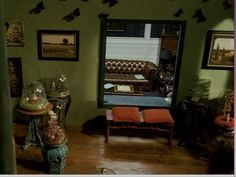 Penelope's room from one of my favorite movies, Penelope. Movie Set Decor, Penelope Movie, My First Apartment, Spooky House, Classroom Design, House Rooms, My Room, My Dream Home, Building A House