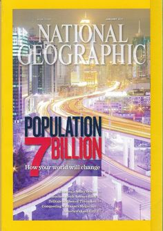 National Geographic January 2011 Population - Back Issue Magazine Collectible