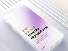 Onboarding text effect by Gleb Kuznetsov✈ Make Design, Clean Design, Web Design, Mobile Application Design, Mobile App Design, Fluent Design, Adaptive Design, App Design Inspiration, Text Effects