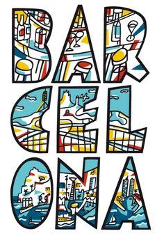 'BAR Cel Ona' es un cartel de 1979 creado por el diseñador valenciano Javier Mariscal. Esta obra se convirtió en un símbolo de la ciudad y muestra una fuerte narrativa icónica desarrollada en tres figuras indispensables de la ciudad condal: la de sus bares, la de su cielo, y la de su mar (olas) mediante la utilización fragmentada de las letras de Barcelona tomadas de tres en tres y reforzando la idea con su significado en el idioma catalán