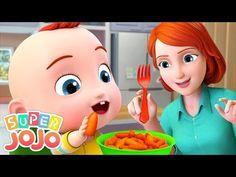 Yes Yes Vegetables Song Kids Video Songs, Songs For Toddlers, Kids Videos, Lullaby Songs, Baby Songs, Baby Music, Nursery Rhymes In English, Best Nursery Rhymes, Sons