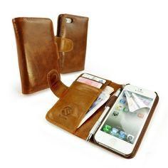 funda/cartera en piel 'Vintage' para Apple iPhone 5 (con protector de pantalla) - marrón B00CSQ3MTA - http://www.comprartabletas.es/fundacartera-en-piel-vintage-para-apple-iphone-5-con-protector-de-pantalla-marron-b00csq3mta.html