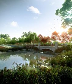 FloodSlicer is Australia's premier rendering and animation company and a world leader in pre-built visualisations 3d Landscape, World Leaders, Cool Landscapes, 3d Rendering, Exterior, Animation, Australia, Urban, River
