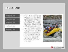 Navigieren Sie einfach und gezielt durch Ihre Präsentation mit unseren vorgefertigten PowerPoint-Registerkarten @ http://www.presentationload.de/registerkarten.html