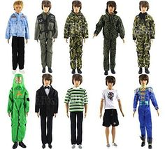 ZITA ELEMENT SET OF 5 PCS Fashion Army Solider Casual Wear Clothes/outfit for Barbies BoyFriend Ken Doll XMAS GIF No description (Barcode EAN = 0782675187971). http://www.comparestoreprices.co.uk/december-2016-6/zita-element-set-of-5-pcs-fashion-army-solider-casual-wear-clothes-outfit-for-barbies-boyfriend-ken-doll-xmas-gif.asp