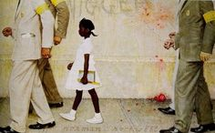 Ruby Bridges by Norman Rockwell