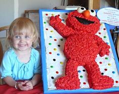 Cool Elmo Cakes for Kid Birthday Parties!