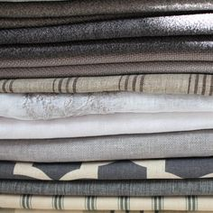 SHADES OF GREY Quilt Bedding, Linen Bedding, Curtain Fabric, Curtains, Grey Bedrooms, Linens And Lace, Cotton Blankets, Scatter Cushions, Grey Fabric