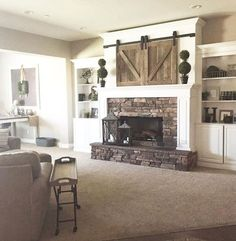Farmhouse style fireplace ideas (54)