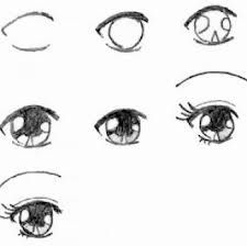 Cartoon Eyes Step-by-step drawing lesson