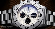 BREITLING Super Ocean Chronograph Steel Fish  / Ref.A141G82PSS