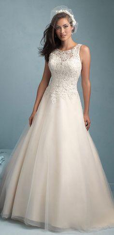"Allure Bridals Spring 2015 | <a href=""/explore/wedding"" class=""pintag"" title=""#wedding explore Pinterest"">#wedding</a>"