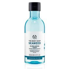 Buy Seaweed Oil Balancing Toner from The Body Shop: Rebalance and revive your skin with the Seaweed Oil Balancing Toner- a harmonizing, alcohol-free toner. This will gently cleanse impurities while targeting combination skin, to purify and refresh.