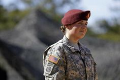1st Lt. Kelly Requa is breaking new ground at Fort Bragg. She's one of a small number of female lieutenants brought into lead a cannon platoon at the North Carolina base.