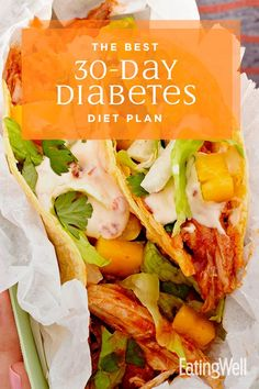 Enjoy a month off from meal planning with 30 days of delicious, diabetes-friendly dinners to help you keep your blood sugar levels in check. Managing diabetes never tasted so good! diabetic diet The Best Diabetes Diet Plan Cena Keto, Diabetic Meal Plan, Diabetic Breakfast Recipes, Healthy Recipes For Diabetics, Diabetic Diet Recipe, Meal Plan For Diabetics, Cooking For Diabetics, Healthy Diabetic Meals, Healthy Diabetic Recipes