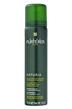 """""""This stuff has transformed my hair/beauty/life routine. I have super-straight, super-fine hair, which means I'm always waging a war between flat-greasy and dry-poofy when it comes to my head. But this dry shampoo is magic: Not only is the stuff darker, which saves me from the granny-gray mane effect some more baby-powder-hued formulas have, but it also gives my hair the perfect, not-too-product-y texture. With a few sprays of this, I can sport second-day washed hair without it looking limp…"""