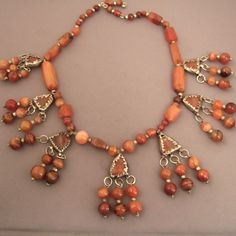 Yemen | Necklace; silver and carnelian | Early 20th century | 1,350€