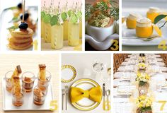breakfast food Party Simplicity Lemon Zest and Sunflower Wedding Ideas: Part 2 The Wedding Reception Food