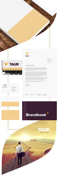 TAUR by Cris Labno, via Behance
