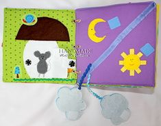 So many cute ideas for a quiet book!