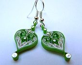 I LOVE quilling for earrings - what a great conversation starter!