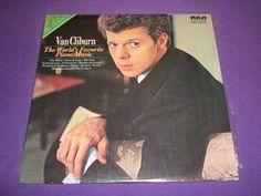 "Van Cliburn - The World's Favorite Piano Music - 12"" Vinyl LP Record - LSC-3323"
