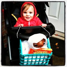 I think we found a winnner for baby Carson's Halloween costume next year! Elliot and ET {{the most awesome costume ever! -Ashley}}