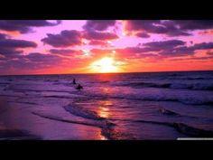 Beautiful Sunset Wallpaper Landscape Nature Wallpapers in jpg Purple Sunset, Sunset Beach, Purple Beach, Playa Beach, Sunset Sky, Sunset Pictures, Beach Pictures, Sunset Images, Beach Sunset Wallpaper