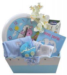 erkek bebek için hediye sepeti... lüks