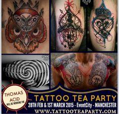Tattoo tea party - Thomas Acid x