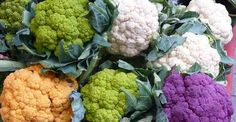 Cauliflower is at its finest and freshest in the fall and makes an excellent, skin-loving snack! It is loaded with vitamins and antioxidants that reverse and prevent signs of aging, acne, lighten dark. Colored Cauliflower, Making Cauliflower Rice, Types Of Cabbage, Low Gi Diet, Romanesco Broccoli, Cabbage Flowers, Broccoli Benefits, Lighten Dark Spots, Contouring