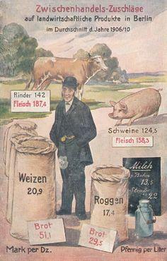 Propaganda AK des Bund der Landwirte, Volkswirtschaftliche Wahrheiten | eBay