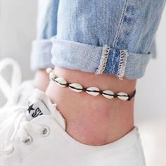 Anklet   Jewelry   Summer   All stars   Sneakers   Jeans   More on fashionchick.nl