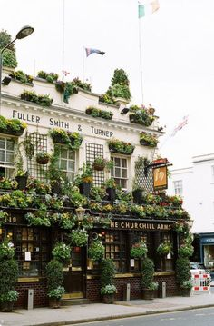 The Churchill Arms. Kensington. London.