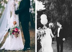 Elspeth, an event stylist naturally knew from the get-go the styling of their day.