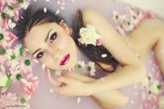 Bathing with blossoms by gestiefeltekatze.deviantart.com on @DeviantArt