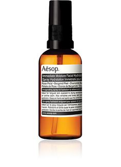 Aesop Immediate Moisture Facial Hydrosol - A good everyday mist - Barneys.com