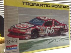 Monogram Dick Trickle Trop Artic #66 Pontiac NASCAR 1/24th Model Kit 1990 Rlse #Monogram
