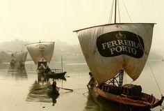 Porto - Barcos no Rio Douro