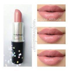 MAC Lipstick in Haute Altitude Eyebrow Makeup Tips Mac Mascara, Mascara Hacks, Eyeliner, Makeup 101, Love Makeup, Skin Makeup, Makeup Ideas, Makeup Products, Beauty Products