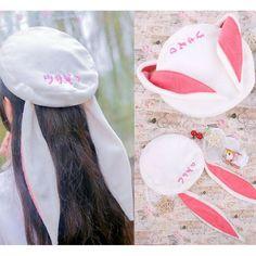 Kawaii Rabbit Ears Beret Hat CP168426
