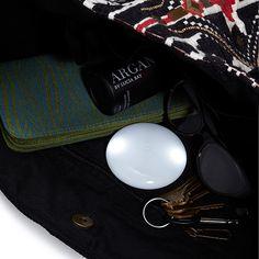 Automatic Handbag Illuminator - turns on when it senses movement