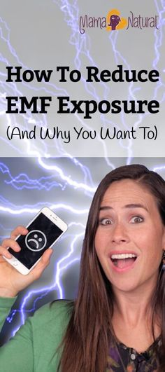 """The WHO has classified EMFs as """"possibly carcinogenic to humans."""" Here are simple steps you can take right now to reduce your EMF exposure. http://www.mamanatural.com/emf-exposure/"""